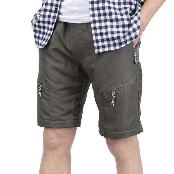 Summer Shorts Men Fashion Brand Boardshorts Breathable Male Casual Shorts Comfortable Plus Size