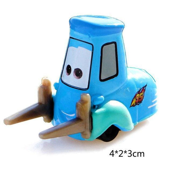 PINkart-USA Guido Pixar Cars 3 Lightning Mcqueen Jackson Storm Mater Diecast Metal Birthday Christmas Toys Gift For