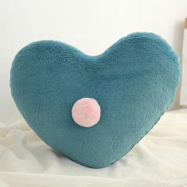 PINkart-USA Heart Green Born Kawaii Toy Kids Back Cushion Baby Room Decor Pillows Crib Wall Decoration Children Products