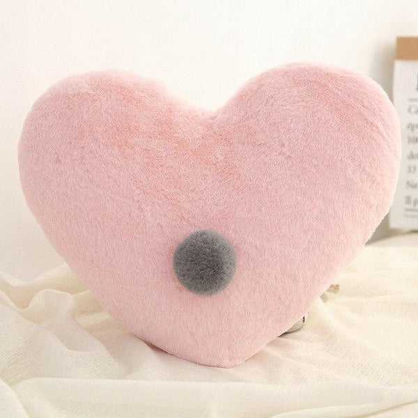 PINkart-USA Heart Pink Born Kawaii Toy Kids Back Cushion Baby Room Decor Pillows Crib Wall Decoration Children Products