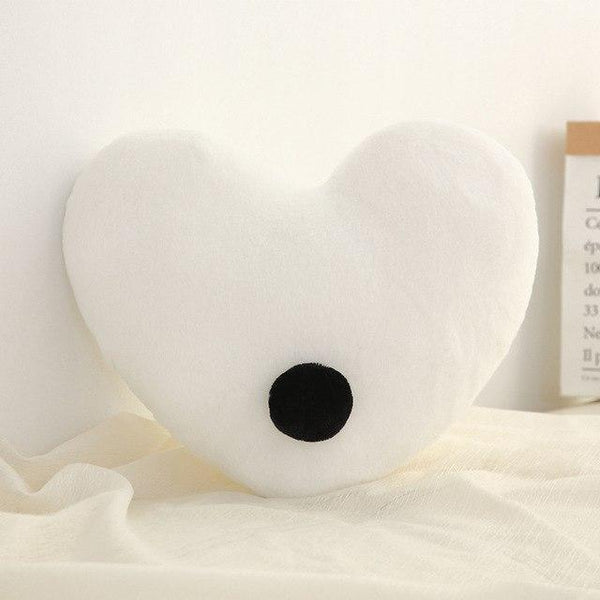 PINkart-USA Heart White Born Kawaii Toy Kids Back Cushion Baby Room Decor Pillows Crib Wall Decoration Children Products