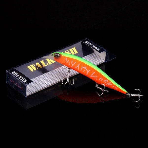 PINkart-USA Hot Model Wobbler Fishing Lure 135Mm 17.4G Floating Minnow Crankbait Bass Pike Bait Fishing