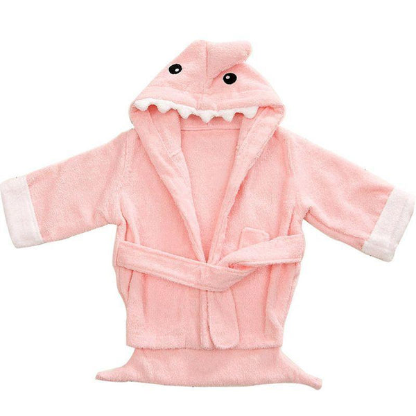 PINkart-USA Infant Animal Modeling Of Home Service Cotton Hooded Bathrobes Children'S Various Shapes Of Animals