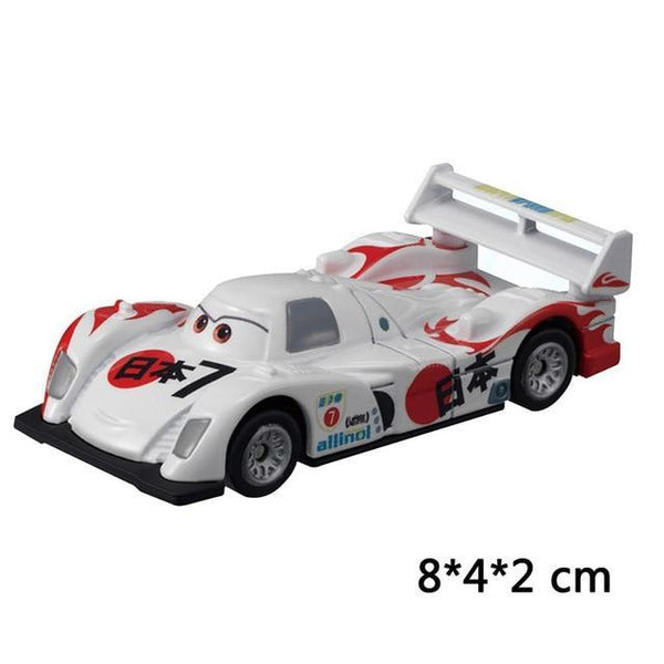 PINkart-USA Japan Pixar Cars 3 Lightning Mcqueen Jackson Storm Mater Diecast Metal Birthday Christmas Toys Gift For