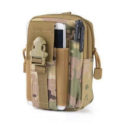 PINkart-USA Khaki Outdoor Camping Hunting Accessory 600D Tactical Waist Bag Pouch Military Waist Belt Wallet Sport