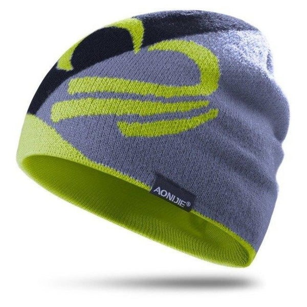 PINkart-USA Lemon Knitted Sports Hat Windproof Running Beanie Hat Outdoor Cycling Skull Cap Antibacterial