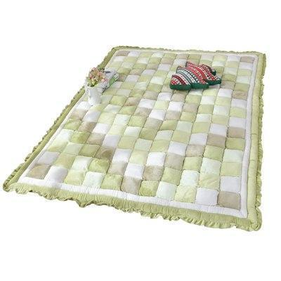 PINkart-USA Light Green / 600mm x 1600mm 40Mm Thickness Short Plush Carpet Bedroom Full Of Rectangular Bedside Mat Tatami Home Soft