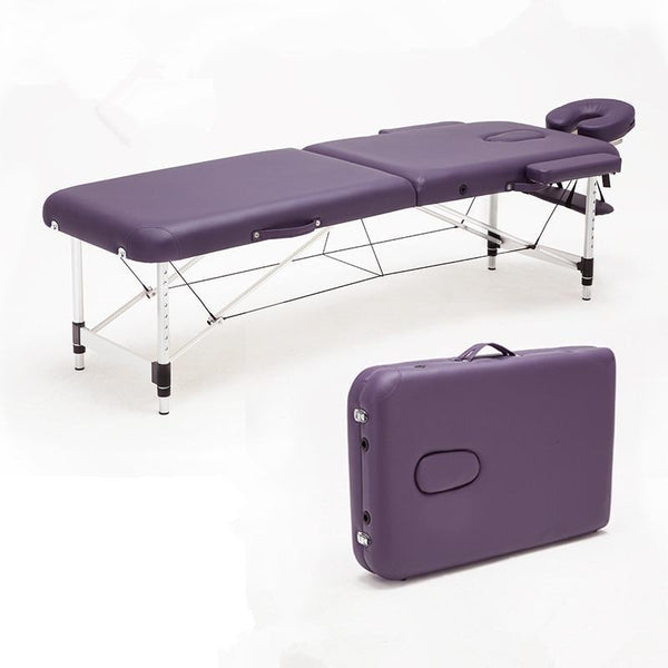 PINkart-USA Massage&Relaxation Aluminum Portable Relaxing Massage Table With Adjustable Face Cradle Spa Bed