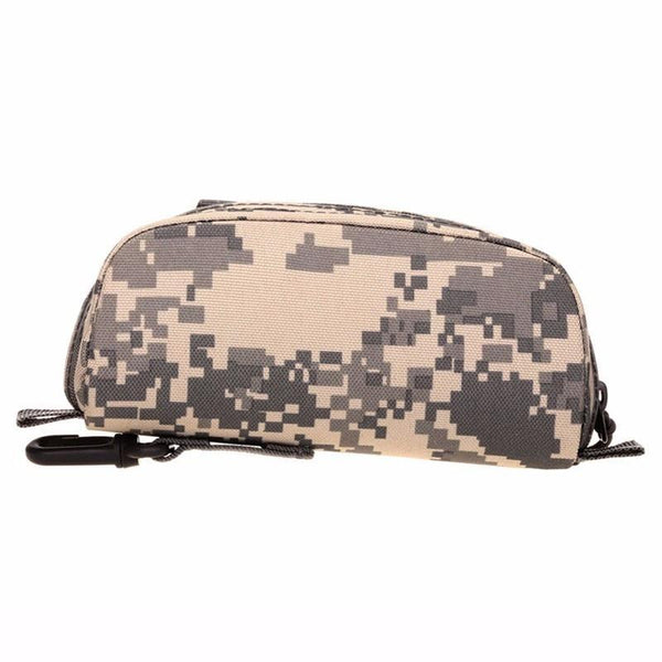 PINkart-USA Men Tactical Military Army Molle Sunglasses Case Eyeglasses Bag Outdoor Glasses Pouch Fanny Pack