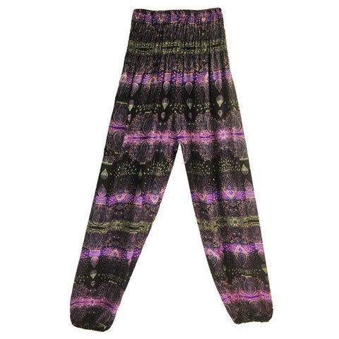 PINkart-USA Men Women Thai Harem Trousers Festival Hippy Smock High Waist Yoga Pants Full Length %