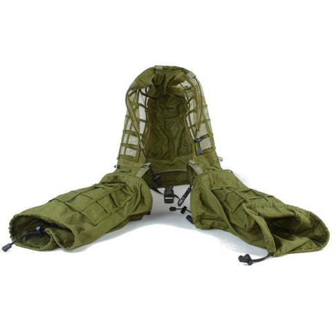 PINkart-USA Military Disguise Sniper Coat Camouflage Viper Hood Foundation Combat paintball Hunting Ghillie Suit woodland burlap String
