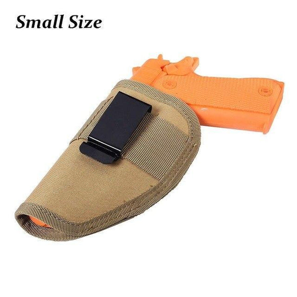 PINkart-USA Mud Small Size Hunting Military Tactical Left Right Hand Gun Pistol Holster Shooting Quick Release Gun Pouch Mag