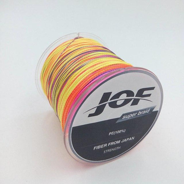 PINkart-USA Multi / 0.6 / Mainline 300M Super Strong Japan Multifilament Pe Braided Fishing Line 4 Strands Braided Wires 8 10 20 30 40