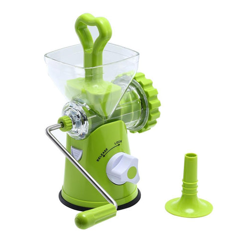 PINkart-USA Multipurpose Household Meat Grinder Detachable Manual Meat Mincer Vegetable Grinder Sausage Stuffer