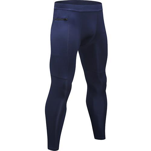 New Zipper Pocket Sport Pants For Men Quick Dry Men'S Running Pant Jogging Pant Gym Fitness