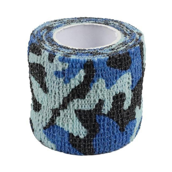 PINkart-USA Ocean 4.5M*5M Tactical Camouflage 1 Roll Stretch Bandage Outdoor Hunting War Shooting Tape Gun