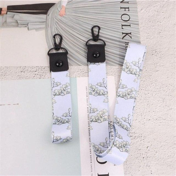PINkart-USA Online Shopping 001 Fashion For Mobile Phone Neck Wrist Strap Work Card Holder Badge Id Holder For Iphone 6 7 8 Samsung