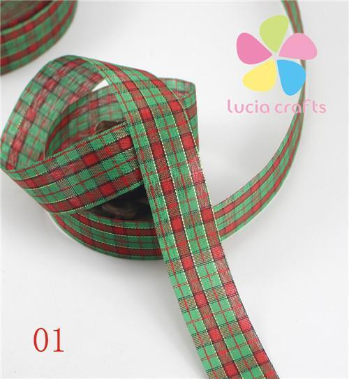 PinKart-USA Online Shopping 01 5 Yards 25Mm Printing Grosgrain Ribbon Bows Christmas Party Gift Decor Craft 040048006(1)