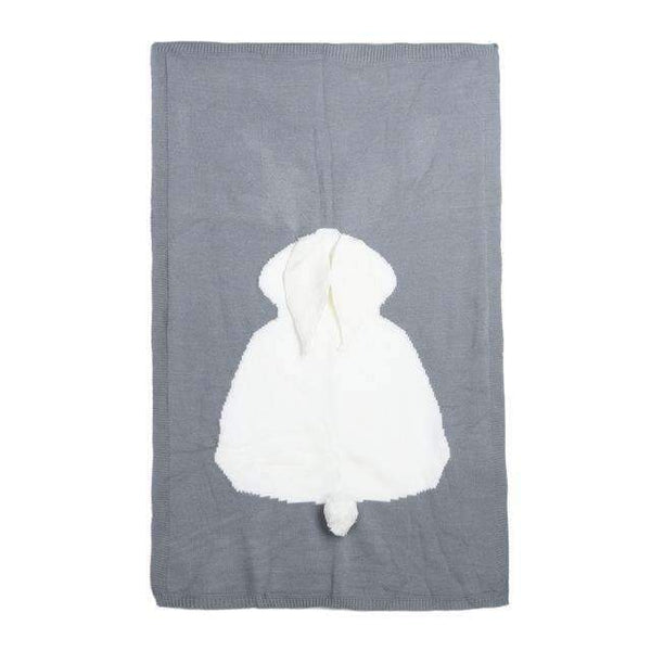 PinKart-USA Online Shopping 02 Baby Cute Rabbit Blanket Soft Warm Wool Swaddle Cute Absorbent Kids Bath Towel