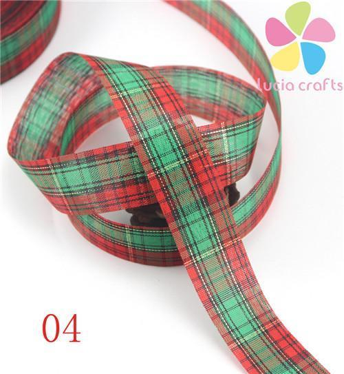 PinKart-USA Online Shopping 04 5 Yards 25Mm Printing Grosgrain Ribbon Bows Christmas Party Gift Decor Craft 040048006(1)