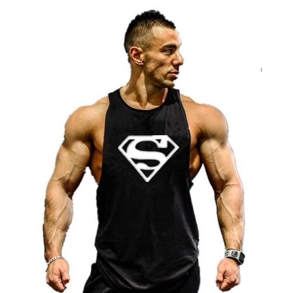 PINkart-USA Online Shopping 07 / M Men'S Gyms Tank Top Hoodies Fitness Men Sleeveless T-Shirt Hooded Sweatshirts Sporting Singlets