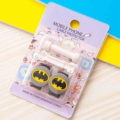 PinKart-USA Online Shopping 1 1Pc Fashion Cute Cartoon Usb Cable Protector Cover Case For Apple Iphone Android Charger Data