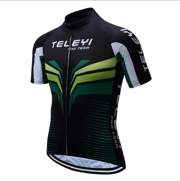 PINkart-USA Online Shopping 1 / 4XL Teleyi Brand Pro Team Men Cycling Jersey Ropa Ciclismo Breathable Mtb Bike Jersey Shirt Maillot