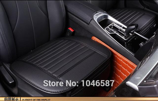 PinKart-USA Online Shopping 1 front seat Car Seat Cover Styling Four Seasons Leather Breathable Car Interior Seat Cover Pad Seat Cushion