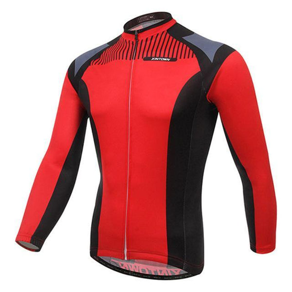 PINkart-USA Online Shopping 1 / L Men'S Cycling Jersey Tops Winter Long Sleeve Cycling Clothing Ropa Invierno Ciclismo Sports