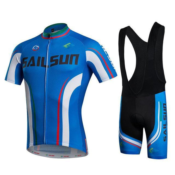 PINkart-USA Online Shopping 1 / L Sail Sun Team Racing Cycling Jersey Ropa Ciclismo Summer Cycling Clothing Breathable Mtb Bike