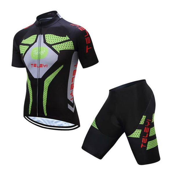 PINkart-USA Online Shopping 1 / L Teleyi Breathable Cycling Jersey Summer Mtb Bicycle Clothes Ropa Ciclismo Short Sleeve Bike