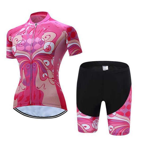 PINkart-USA Online Shopping 1 / L Teleyi Cyling Jersey Breathable Cyling Clothing Ropa Ciclismo Short Sleeve Bike Wear Maillot