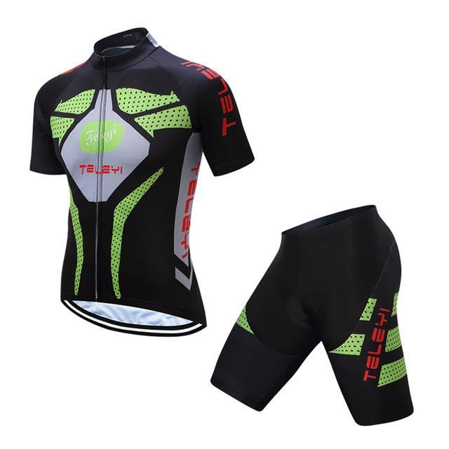 PINkart-USA Online Shopping 1 / L Teleyi Ropa Ciclismo Cycling Jersey Set Mtb Racing Sport Cycling Clothing Quick Dry Bicycle Clothes