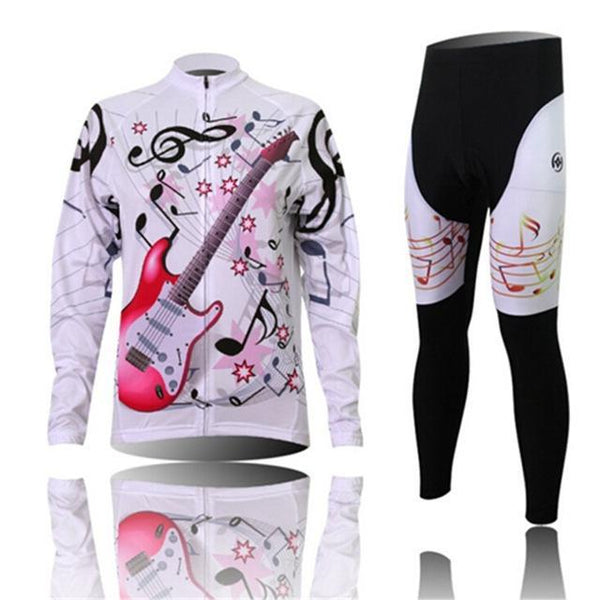 PINkart-USA Online Shopping 1 / L Women'S Cycling Jersey Sets Winter Long Sleeve Mtb Bicycle Cycling Clothing Maillot Ciclismo