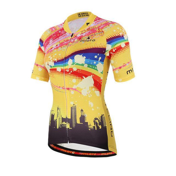PINkart-USA Online Shopping 1 / L Womens Cycling Jersey Tops Short Sleeve Bike Jersey Clothes Mtb Cycling Clothing Ropa