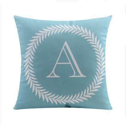 26 Letters Cushions Decorative Pillow Almofada Colorful Pillow Linen Cotton Throw Pillow Cushion Fo Online Shopping PINkart.in