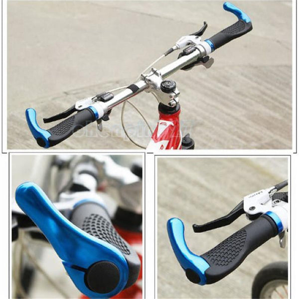 PINkart-USA Online Shopping 1 Pair Cycling Grips Mountian Bike Lockable Handlebar Grips Anti-Skid Rubber Bicycle Grips Bisiklet