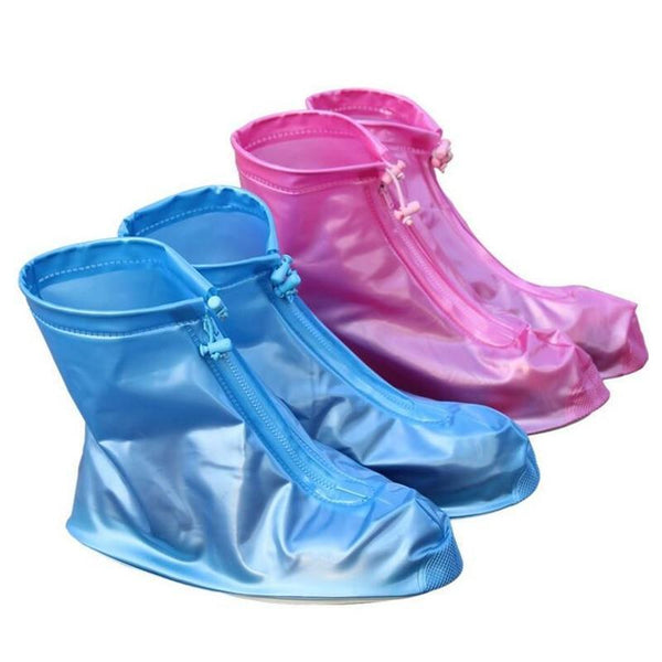 PINkart-USA Online Shopping 1 Pair Reusable Rain Shoes Women/Men/Kids Children Thicken Waterproof Boots Rain Slip-Resistant