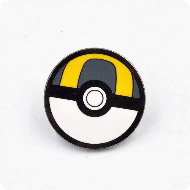 PinKart-USA Online Shopping 1 Pokemon Brooches Anime Cute Harajuku Ball Pokemon Go Enamel Pin Badge Cameo Kids Boys Girls Game