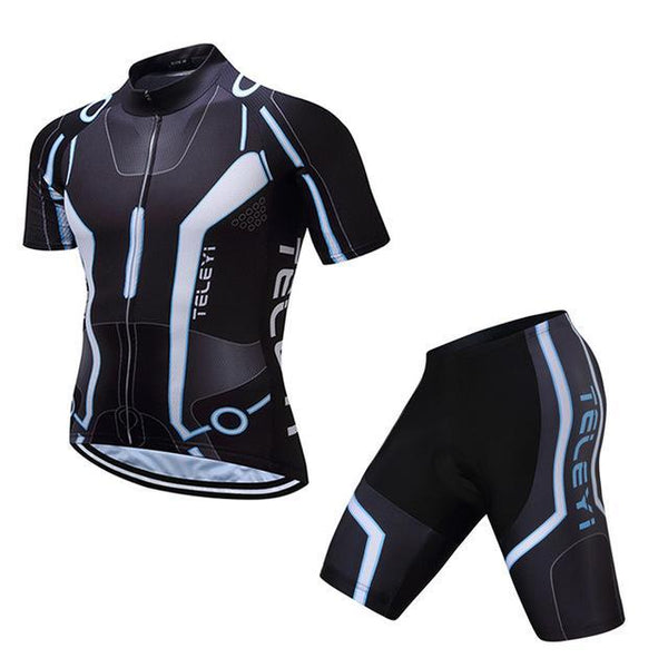Teleyi Brand Men'S Racing Sport Cycling Jersey Sets Mountain Bike Jersey Ropa Ciclismo Cycle