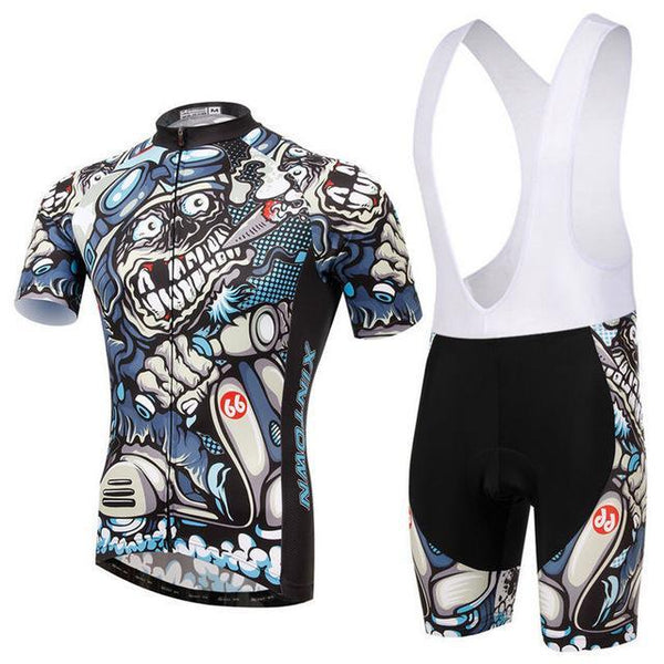 PINkart-USA Online Shopping 10 / L Skull Style Summer Cycling Clothing/Short Sleeve Cycling Jersey Ropa Ciclismo/Mtb Bike Jersey