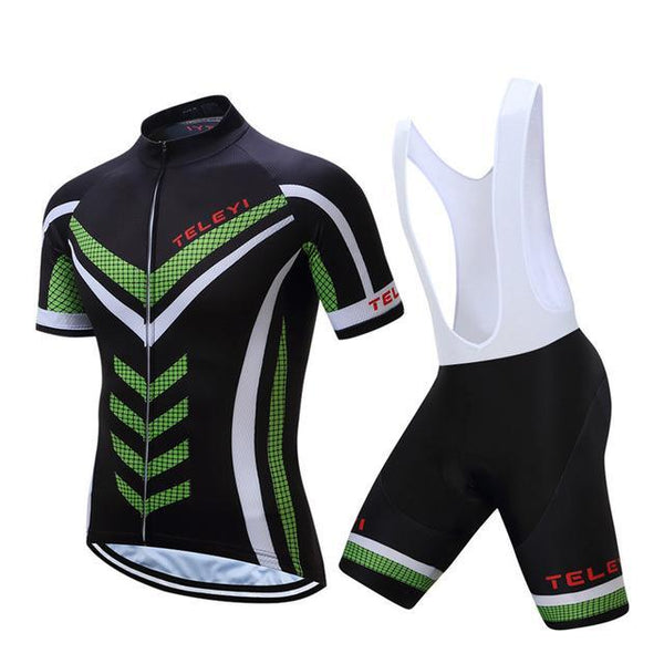 PINkart-USA Online Shopping 10 / L Teleyi Ropa Ciclismo Cycling Jersey Set Mtb Racing Sport Cycling Clothing Quick Dry Bicycle Clothes