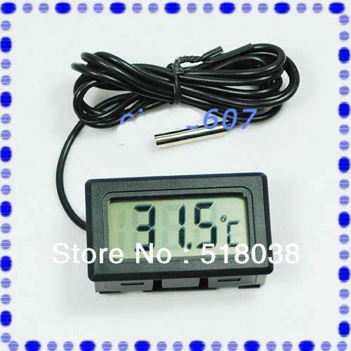 PinKart-USA Online Shopping 10 Pcs/Lot Lcd Digital Thermometer Aquarium Fish Tank Water Temperature Meter Hotsell