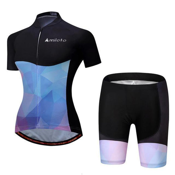 PINkart-USA Online Shopping 10 / S Breathable Women Cycling Jersey Sets Ropa Ciclismo Quick Dry Bicycle Cycling Clothing Maillot Mtb