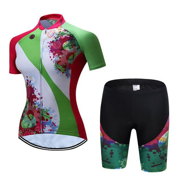 PINkart-USA Online Shopping 10 / S Teleyi Bike Team Women Cycling Jersey Ropa Ciclismo Breathable Bicycle Cycling Clothing Quick Dry