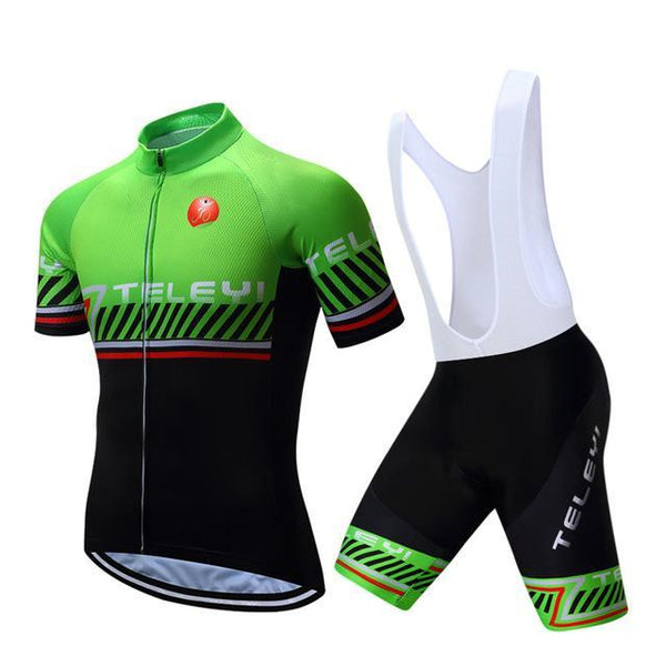 PINkart-USA Online Shopping 10 / S Teleyi Breathable Bike Jersey Outdoor Bicycle Clothes Quick Dry Cycling Clothing Ropa Ciclismo