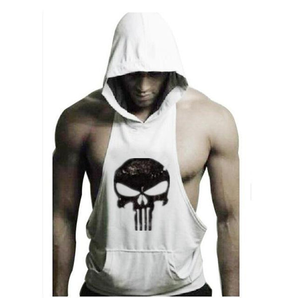 PINkart-USA Online Shopping 10 / XL New Brand Sleeveless Shirt Casual Fashion Hooded Tank Top Men Out Door Bodybuilding Fitness