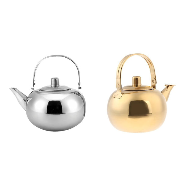 PINkart-USA Online Shopping 1000Ml / 1500Ml / 2000Ml / 2500Ml Durable Outdoor Camping Stainless Steel Tea Kettle Waterpot