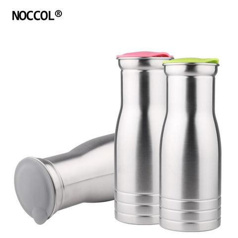 PINkart-USA Online Shopping 1000Ml Stainless Steel Water Bottle Travel Outdoors Eco Friendly Health Drinking Flask