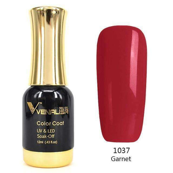 PinKart-USA Online Shopping 1037 Red Nail Art 12Ml 12 Color Supper Diamond Shining Glitter Sequins Starry Platinum Paint Gel
